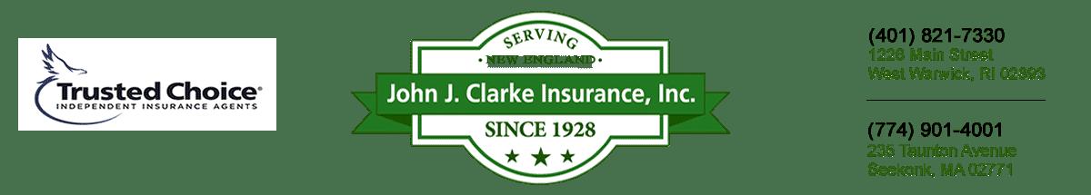 John J Clarke Insurance Logo